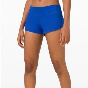 NWT lululemon speed up shorts 6